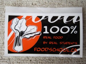 The goods: $0.50 each or 10 for $5.00 with all proceeds going to support future Food School initiatives